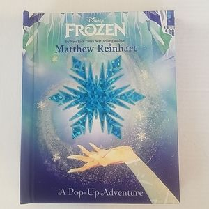 New! FROZEN Pop Up Adventure book Matthew Reinhart